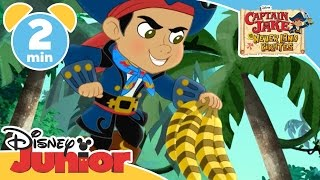 Captain Jake and the Never Land Pirates | Zebra Bananas | Disney Junior UK