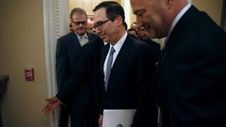 WATCH LIVE: Treasury Sec. Mnuchin and Trump economic chief Cohn hold White House news briefing