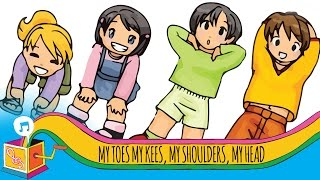 My Toes, My Knees, My Shoulders, My Head | Nursery Rhyme | Karaoke