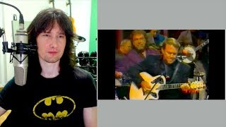 British guitarist reacts to Glen Campbell SHREDDING, country style!