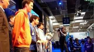 World Best Gamers Starcaft 2 @ ESL & IEM Arena, CeBit 2012