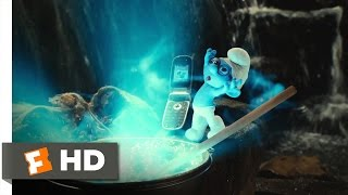 The Smurfs (2011) - The Blue Moon Scene (8/10) | Movieclips