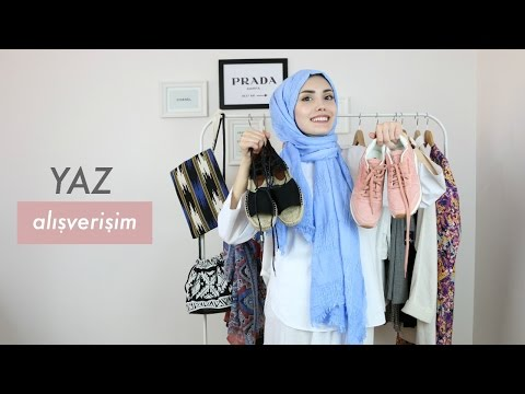 Yaz Alışverişi │Kıyafet , Ayakkabı , Şal , Çanta