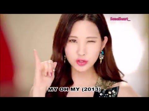 Evolution of SNSD/Girls' Generation (2007-2016) + SPECIAL Ending