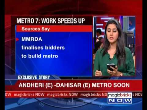Connectivity boost: Bidders finalised for Andheri(E) - Dahisar(E) metro line - The Property News