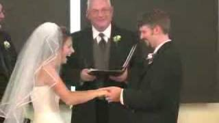 A Funny Marriage Ceremony . . . .