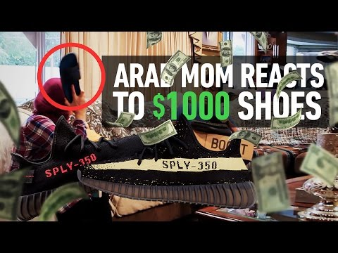 Xxx Mp4 Arab Mom Reacts To 1000 Shoes I Got Hit With A Belt 3gp Sex