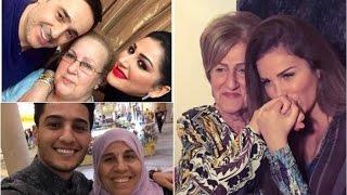 بكلمات مؤثرة وصور مليئة بالمشاعر احتفل المشاهير بعيد الأم