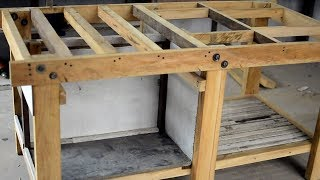 Workbench/Table Saw Built Part 1 - Table structure