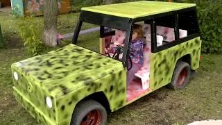 Как сделать машину для ребенка на даче своими руками 75