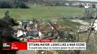 """Mayor Says It """"Looks Like A War Scene!"""" After Two Tornadoes Rip Through Ottawa"""
