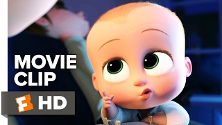 The Boss Baby Movie CLIP - How to Say I Love You (2017) - Alec Baldwin Movie