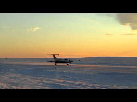 1900C landing at PABA!