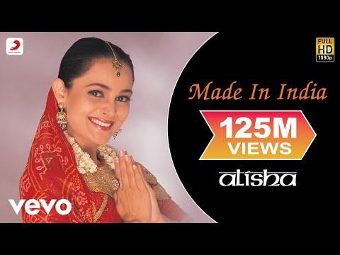 Alisha Chinai Made In India Video