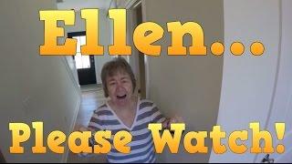 Ellen Degeneres - Please Watch this Short Video. We need your HELP