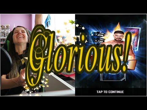GLORIOUS TBG Rewards - WWE SuperCard