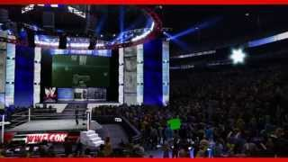 Roman Reigns WWE 2K14 Entrance and Finisher (Official)