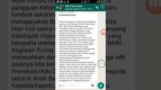 INDONESIA UNDANGAN AKSI TANGKAP habib rizieq shihab dan BUBARKAN fpi dan TANGKAP siapapun backingnya