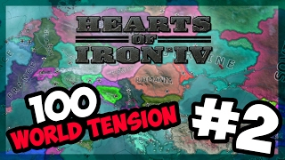 IRAQ VS IRAN! | Hearts of Iron IV - 100 World Tension - Modern Day - E.2