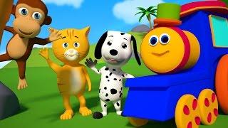 Bob The Train We Go Song Original Kids Song Nursery Rhymes For Childrens Bob Cartoons S01EP03
