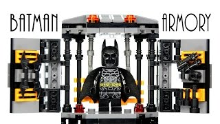 LEGO Batman Armory Tech Gear KnockOff Set The Dark Knight Speed Build