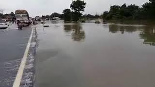 Surjapur, Purnea more NH 34 under Water 2017