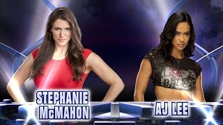 Stephanie McMahon vs. AJ Lee - Fantasy Match-Up