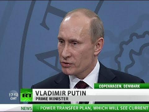 Putin Who gave NATO right to kill Gaddafi