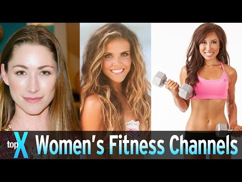 Top 10 YouTube Women s Fitness Channels TopX Ep.20