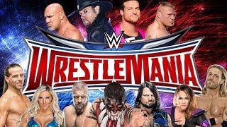 WWE UNIVERSE - WRESTLEMANIA [WWE 2K18/FINAL]