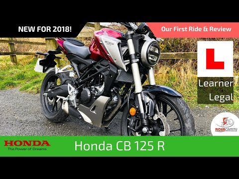 2018 Honda CBR 125R Our First Ride and Review