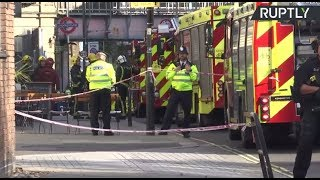 Explosion at London's Parsons Green: LIVE from outside statiion