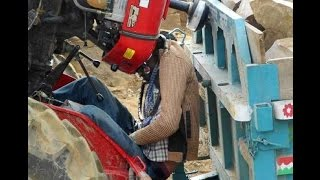 10 Most Horrible Tractor Pulling live Accidents Compilation !!