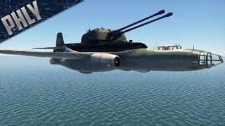 TU-14T & ZSU-57 - I feel dirty (War Thunder Gameplay)