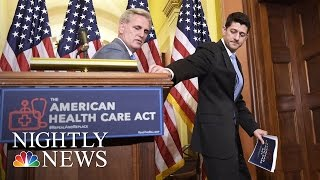 New Health Care Bill In Jeopardy, Trump Administration Trying To Win More Votes | NBC Nightly News