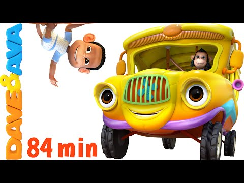 Wheels on the Bus   Nursery Rhymes Collection   YouTube Nursery Rhymes from Dave and Ava