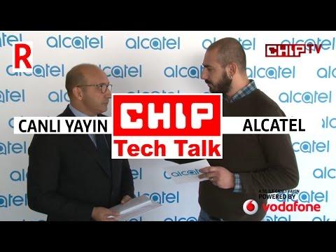 Alcatell mobil ürün lansman canlı yayını kaçıranlar için tekrar - CHIP Tech Talk