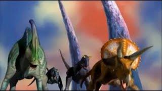 Dinosaur King Battle Against Alpha Gang