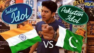 INDIAN IDOL vs PAKISTAN IDOL
