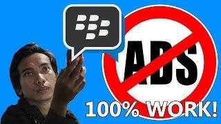 Menghilangkan Iklan Di BBM Android NO ROOT & ROOT 2016