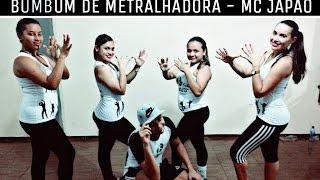 Bumbum de Metralhadora- MC Japão - Coreografia   Hiago Félix Cia Fitness Dance - Cover FitDance