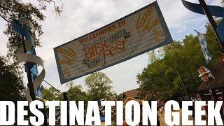 Busch Gardens Williamsburg Howl-O-Scream Updates, Bier Fest, and More!