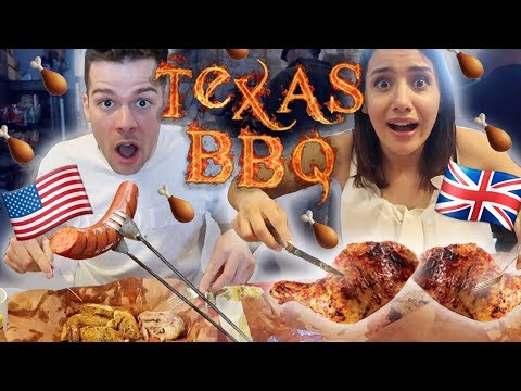 Xxx Mp4 British FIRST TIME Trying Texas BBQ Food 🍗 Texas Series 3gp Sex