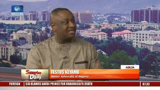 APC Next Level Agenda: 'We Have Ended Argument Of Not Achieving Anything'-- Keyamo Pt.1