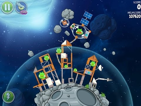 Angry Birds Space Beak Impact 8-33 Walkthrough 3 Star
