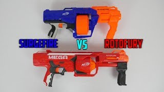 Nerf Surgefire VS RotoFury (WHICH IS BETTER?)