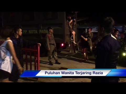 Puluhan Wanita Terjaring Razia Sat Pol PP Padang