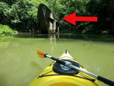 Xxx Mp4 1980s Year Old 'Ghost Ship' Found By Kayakers On The Ohio River 3gp Sex