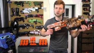 Nerf Long Term Project Part 3 - Vagabond Front Barrel and Praxis Stock