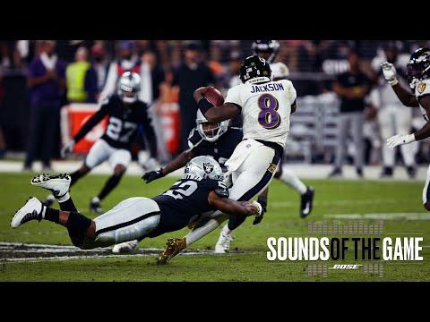 Raiders Wild Week 1 Victory vs. Ravens on MNF Sounds of the Game Las Vegas Raiders NFL